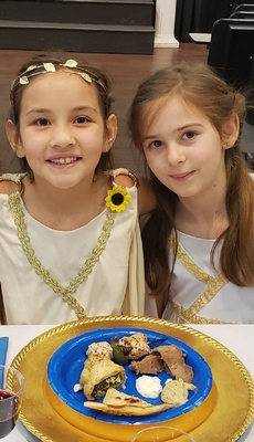 Third Grade Greek Feast