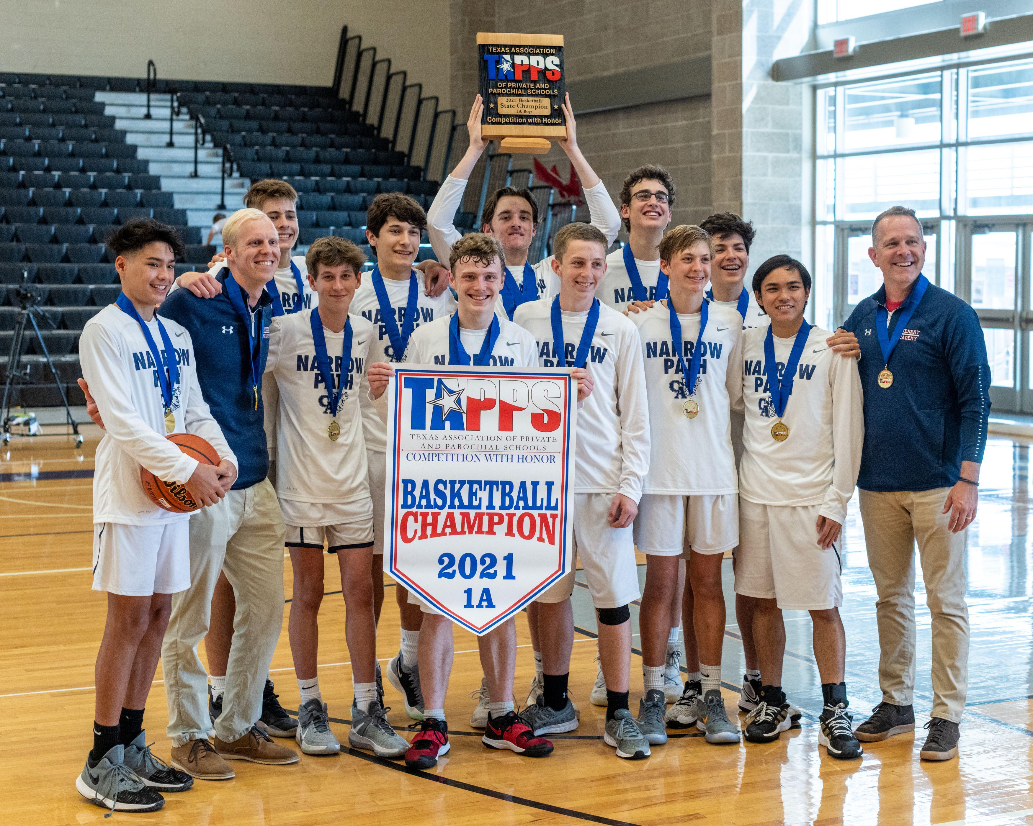 2021 High School Boys Basketball Team